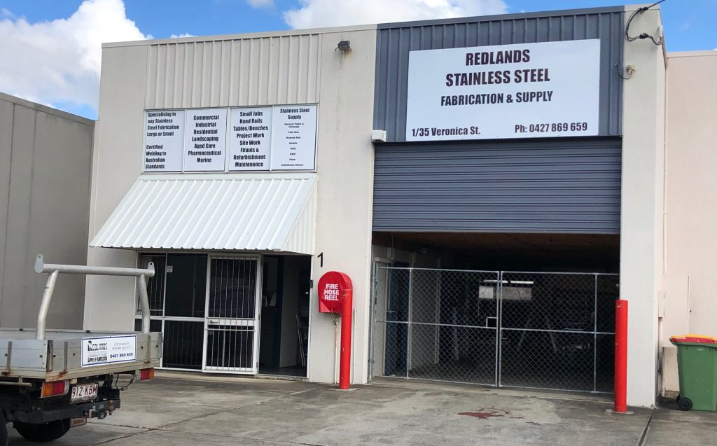 Redlands Stainless Steel Fabrication and Supply 1-35 Veronica St Capalaba